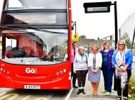New Digital Signs installed at Bus Stops in Torpoint