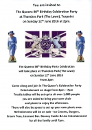 The Queen's 90th Birthday celebrations - Thanckes Park (The Lawn)