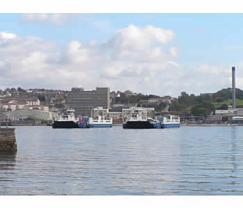 Photo Gallery Image - Views of the Torpoint ferries